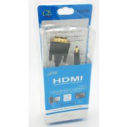 HDMI-DVI Kábel 1.8m