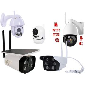Vezeték nélküli Wi-Fi kamerák