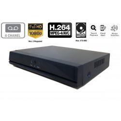 4 csatornás NVR rögzítő 2MP 1080P