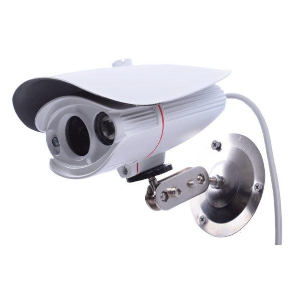 """6mm Objektív IR LED-es éjjellátó 1/3 """"Sony CCD biztonsági kamera 1000 TV-soros, IP65 vízálló szint, beltéri / kültéri biztonsági megfigyeléshez"""