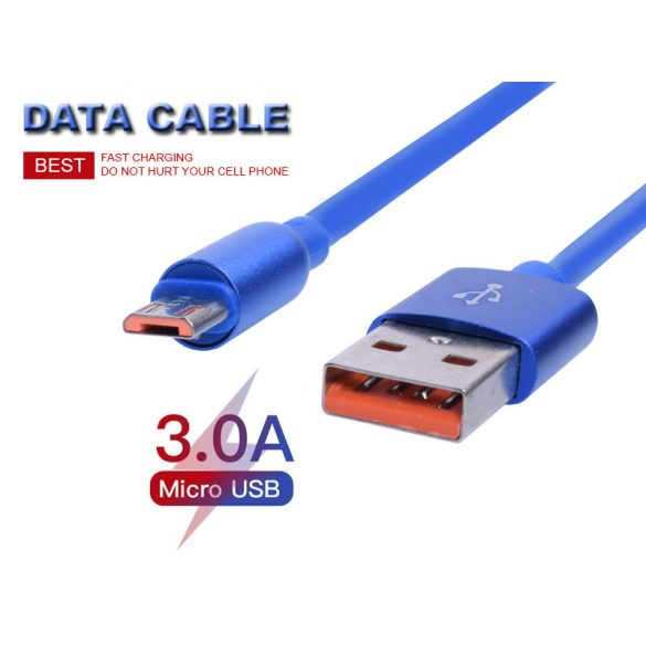 USB - Micro USB nagy sebességű töltő&adatkábel, 1 m-es