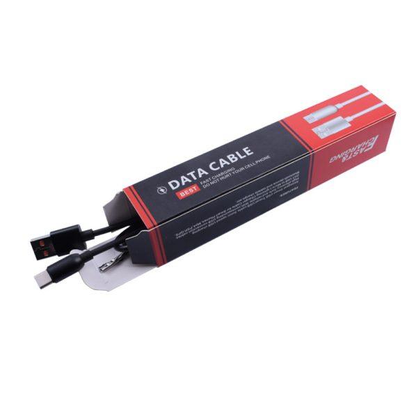 USB - TYPE-C nagy sebességű töltő&adatkábel, 1 m-es