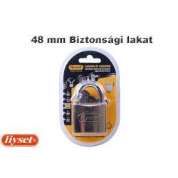 LIYSET 48 mm Biztonsági lakat