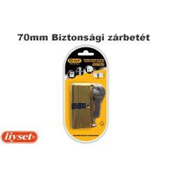 LIYSET 3 kulcsos 70mm Biztonsági zárbetét