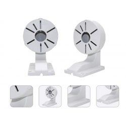 ABS beltéri/ kültéri falra szerelhető L-típusú tartó CCTV biztonsági dome kamerákhoz