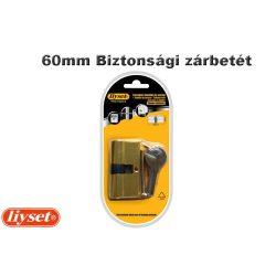 LIYSET 3 kulcsos 60 mm Biztonsági zárbetét