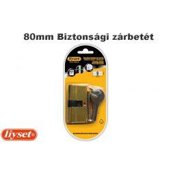 LIYSET 3 kulcsos 80mm Biztonsági zárbetét
