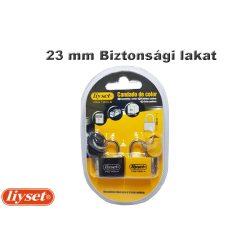 LIYSET 2 db 23 mm Biztonsági lakat