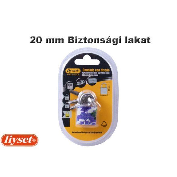 LIYSET 20 mm Biztonsági lakat