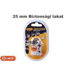 LIYSET 25 mm Biztonsági lakat
