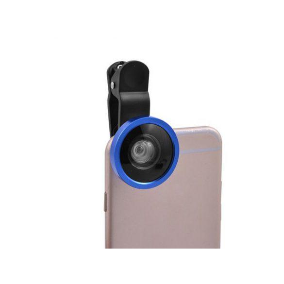Selfie kamera lencse mobiltelefonhoz, szuper széles 0.4x szögű