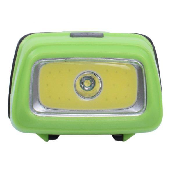 Fejlámpa, LED + COB LED, 3 világítási mód