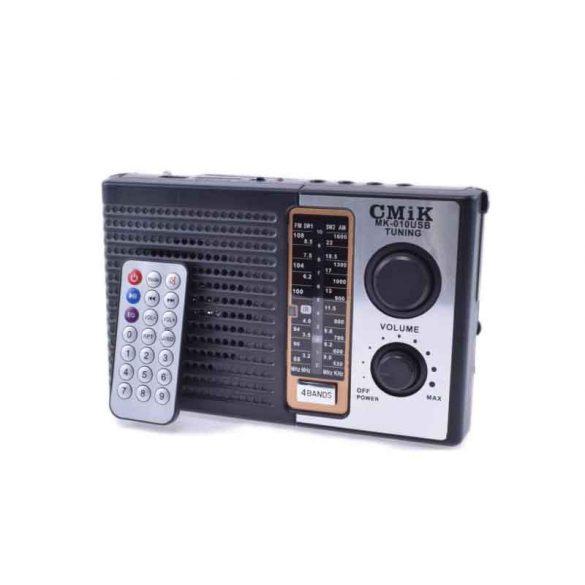 AKKUMULÁTOROS HORDOZHATÓ, FM/AM/SW1-2 RÁDIÓ MP3 USB  SD/MMC LEJÁTSZÓ