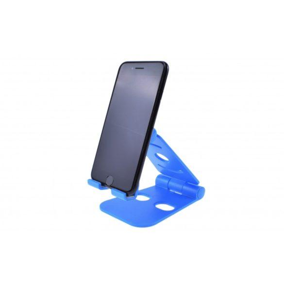 Univerzális asztali tablet + telefon tartó 13x9 cm