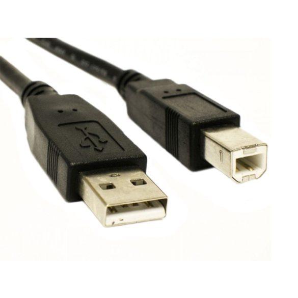 2.0 USB nyomtató kábel 1.5m/3m