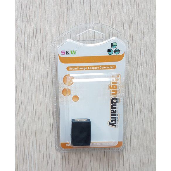 HDMI toldó aljzat-aljzat adapter
