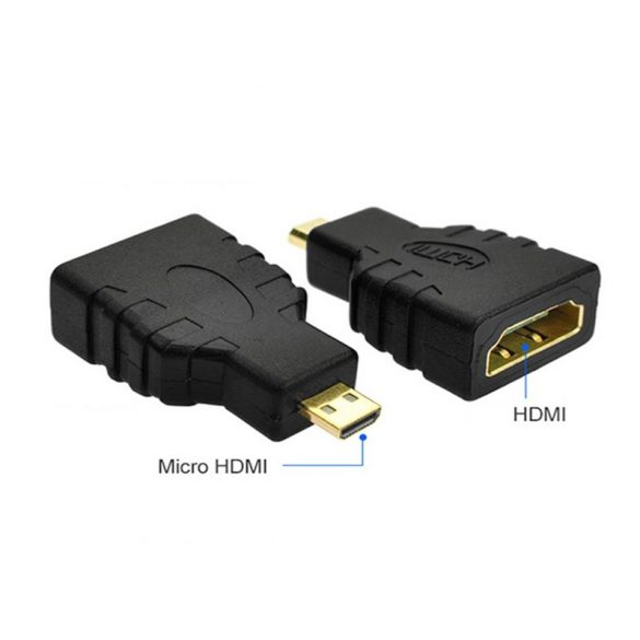 HDMI aljzat - micro HDMI dugó átalakitó