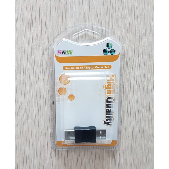 USB 2.0 toldó adapter apa-apa