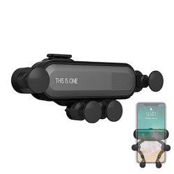 Gravitációs autós telefontartó szellőzőrácsra szerelhető