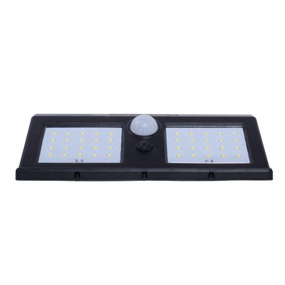 Nap elemes, kültéri, vízálló, 20w 50LED-es fali lámpa
