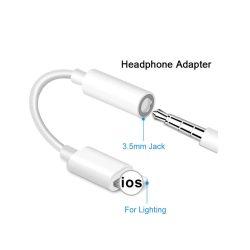 Lightning Audio fülhallgató-átalakító 3,5 mm-es Jack aljzat