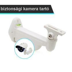 Kiváló minőségű, fehér fém falra szerelhető tartó, CCTV biztonsági POE kameráknak való
