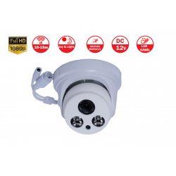 2 megapixeles FULL HD IP dómkamera
