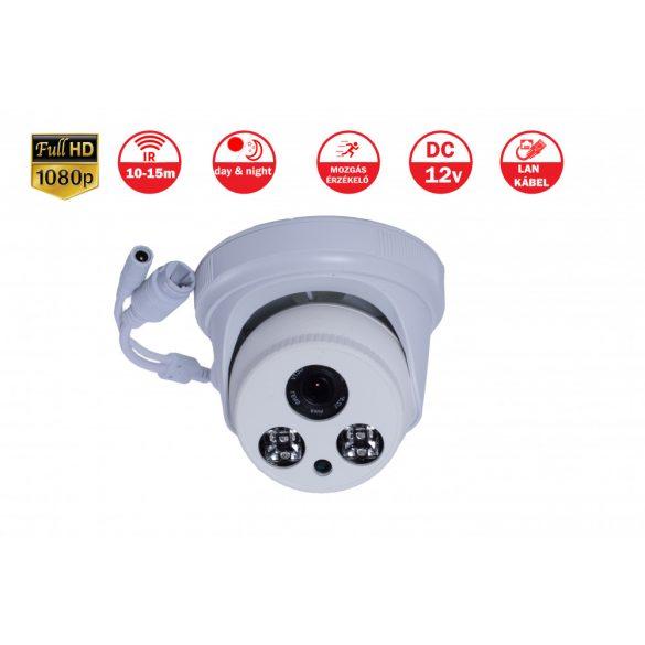 2MP BELTÉRI FULL HD IP DOME kamera