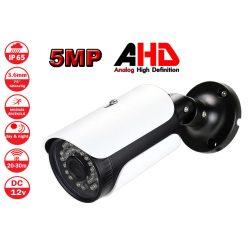 5MP AHD 3.6mm kültéri, vízálló biztonsági kamera