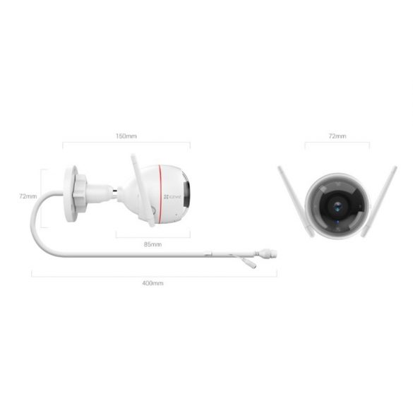 HIKVISION EZVIZ C3W Pro  2.0 MP (2.8mm) kültéri Intelligens otthoni kamera