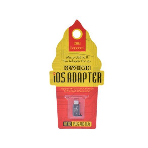 Micro USB -IOS 8 pines átalakitó adapter