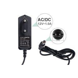12V 1A DC TÁPEGYSÉG, Hálózati adapter