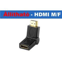 Állítható HDMI APA-ANYA adpter