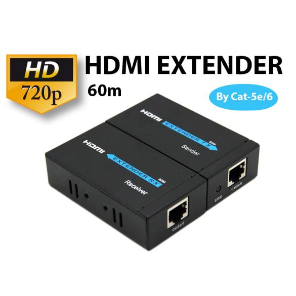HDMI EXTENDER 720P 60m