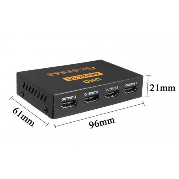 4 PORT Full HD 3D/4K/2K HDMI splitter
