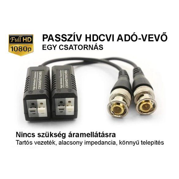 1Pár UTP - BNC Videó Balun CCTV Camerákhoz CVBS / AHD / TVI / CVI
