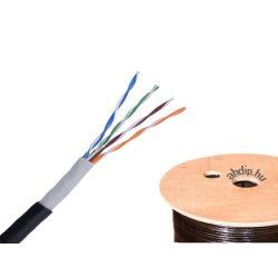 Kültéri alkalmazású Cat5e U/UTP fali kábel PE köpennyel   (CAT-5e ALU-réz)