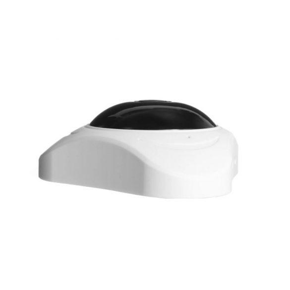 2MP WiFi panoráma kamera IP 180° fokos halszem Irodai biztonság Mini CCTV kamera, fekete szín