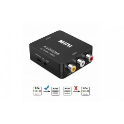 Mini Composite RCA–HDMI 1080P Audio Video AV CVBS adapter átalakítóról TV-hez