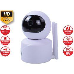 WiFi KAMERA AI TECHNOLÓGIÁVAL 720P IP kamera  az emberek otthoni biztonsági megfigyelésének