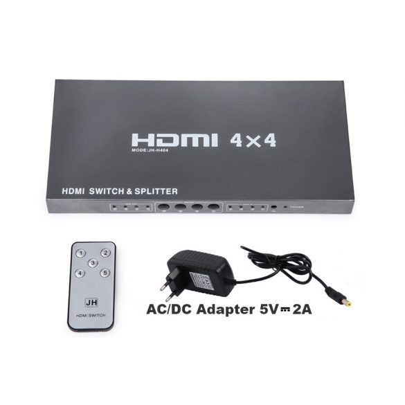 HDMI 4 in 4 out Switch & Splitter 1.4V 3D 1080P/PS3/PS4-hez/Xbox 360/PC-hez/DV/DVD/HDTV