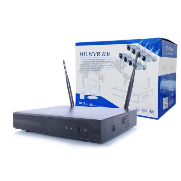 8 db Vezeték nélküli IP kamera rendszer szett 2.0MP 1080P