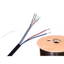 UTP kábel CAT.5E fali, kültéri+MTL  2X0,75    MULTI UTP KÁBEL