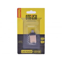 OTG USB Micro USB adapter (android kompatibilis)
