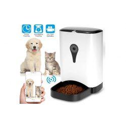 SMART PET FEEDER Wifi-s kamera, két irányú hanggal ellátott automatikus állateledel-adagoló
