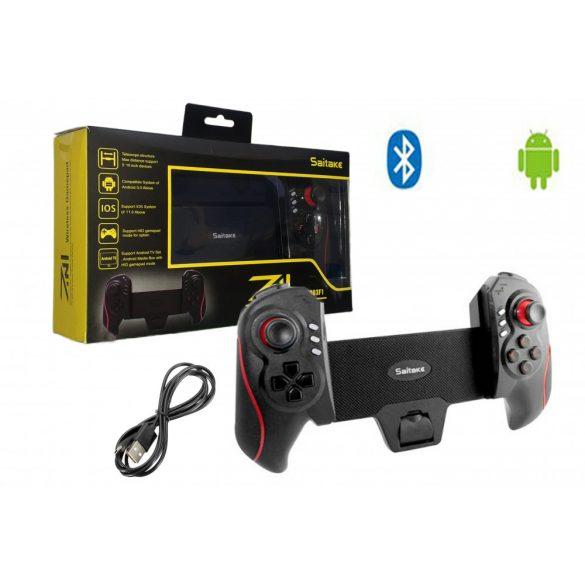 BLUETOOTH Telescopic Controller,levehető és állítható okostelefon/tablet tartó,FOR ANDROID/PC