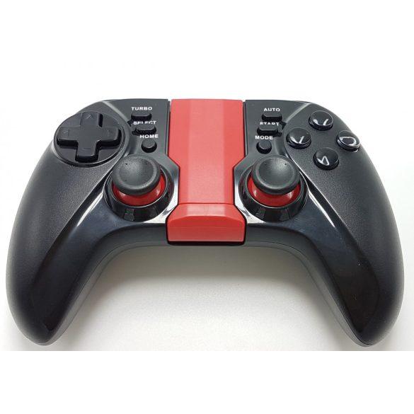 BLUETOOTH vezetéknélküli GAMEPAD,levehető és állítható okostelefon tartó,FOR ANDROID/PC WINDOWS
