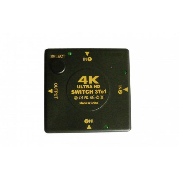 4K ULTRA HD HDMI SWITCH 3 BE 1 KI