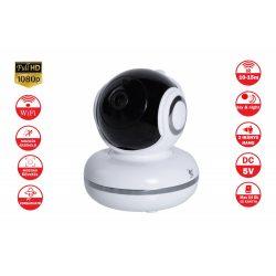 Mozgáskövetős ,SD kártyával szerelt WIFI-s Smart kamera full hd-s