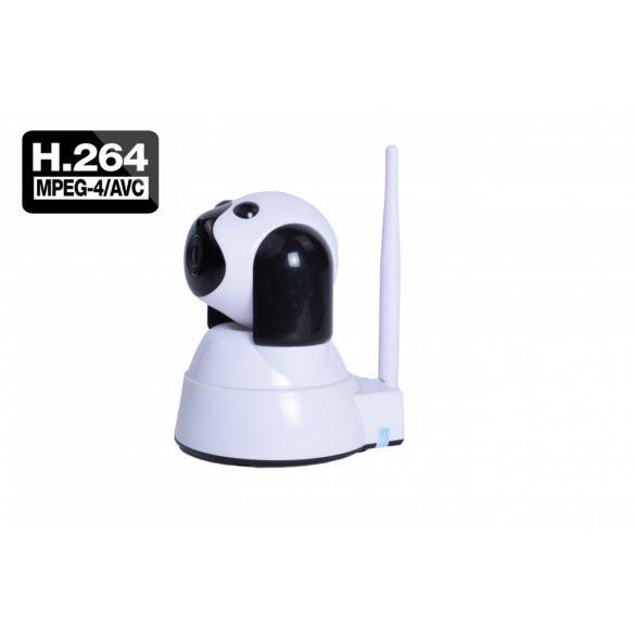 SD kártyával szerelt Kutya formáju WIFI-s forgatható kamera FULL HD
